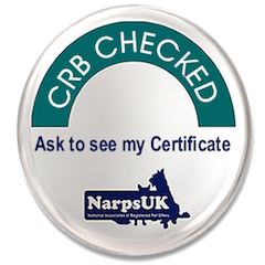 NarpsUK CRB Checked Emblem